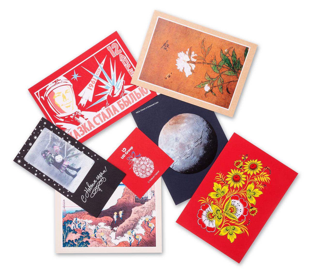 Как заняться печатью открыток