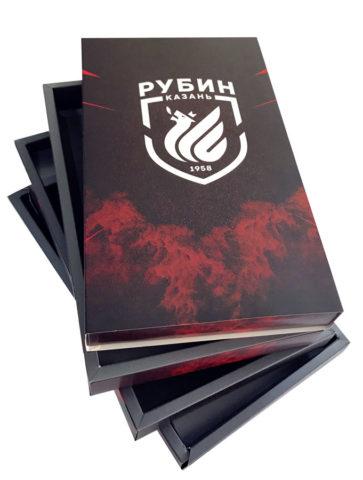 Подарочная коробка для болельщиков футбольного клуба «Рубин»